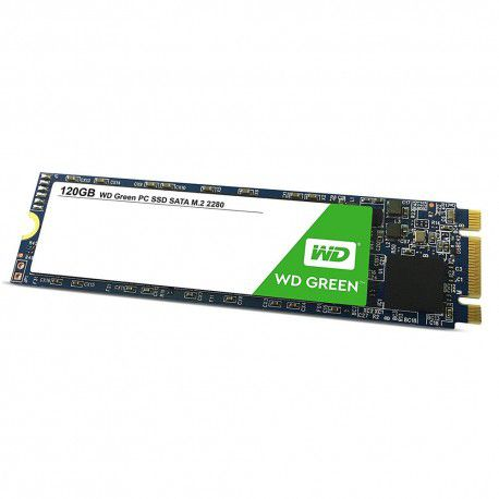 SSD WD Green M2 120GB  - Rei dos HDs