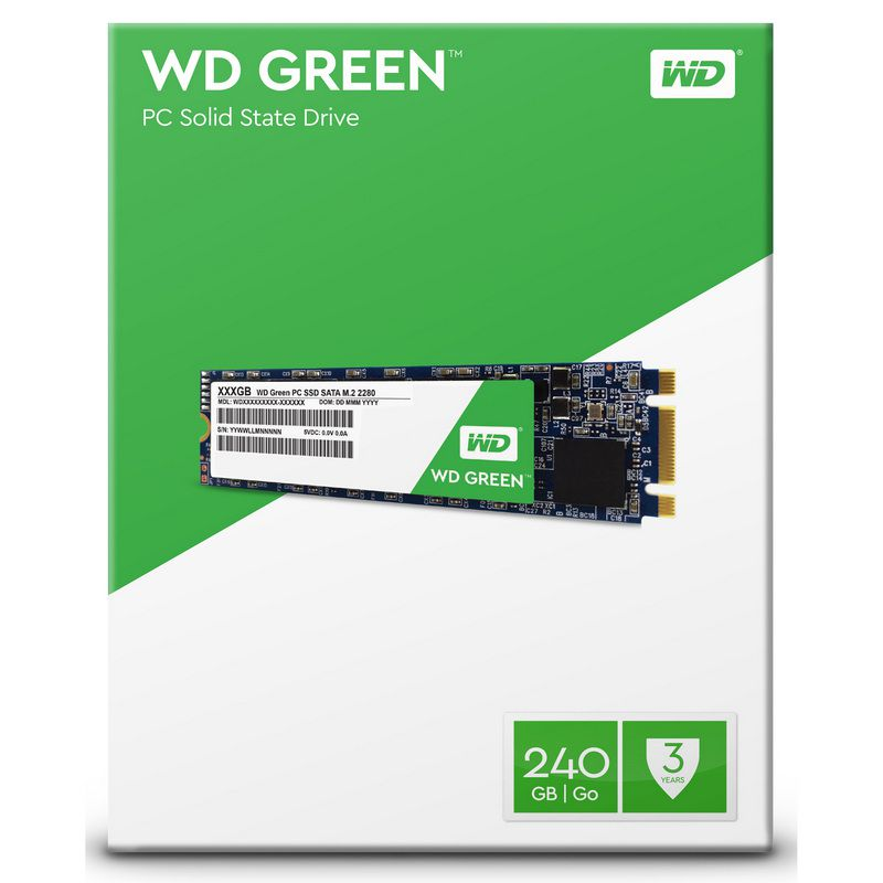 SSD WD Green M2 240GB  - Rei dos HDs