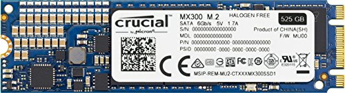 SSD Interno Crucial MX300 M.2 Type 2280SS 525GB  - Rei dos HDs
