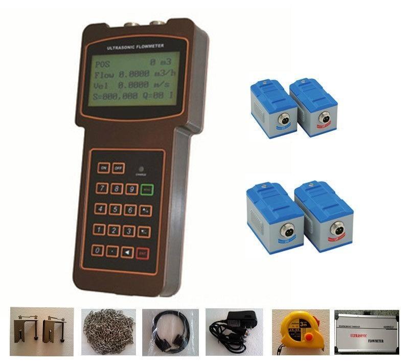 TUF-2000H (DN15-700mm) Medidor de fluxo de medição ultra-sônico digital