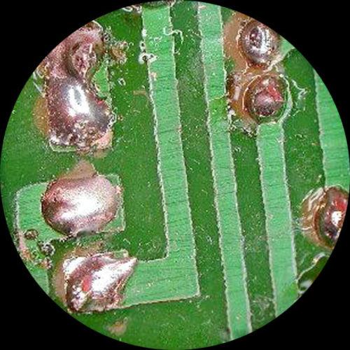 Microscopio 3.5X-90X 144-LED Zoom Stereo Circuito de Solda + USB Digital Camera