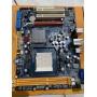 1 Placa Mãe Zotac Amd Socket Am3 Pci Express C/ Defeito simples - Mega Especial