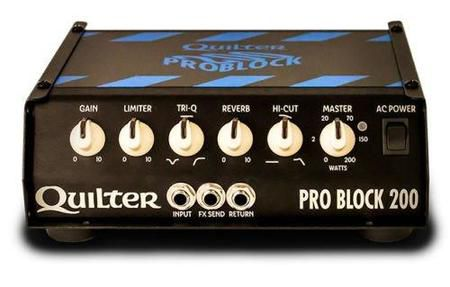 Amplificador Quilter Problock 200 Amp Head Mountable 200 Watt Pro Tone Block