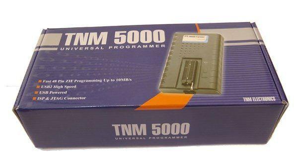 Atmel Programador Tnm 5000 Usb + 15 Adapt + Ic Clip Bios Eprom Gravador Nand Pic