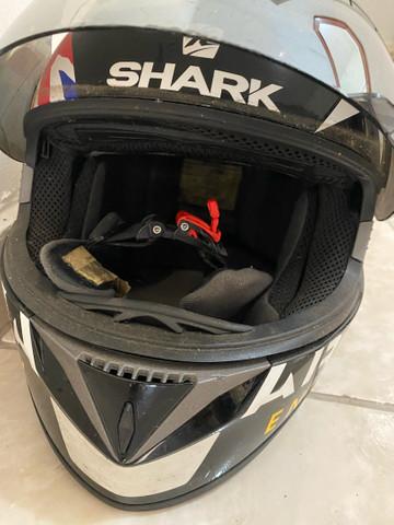 Capacete Shark tamanho XL