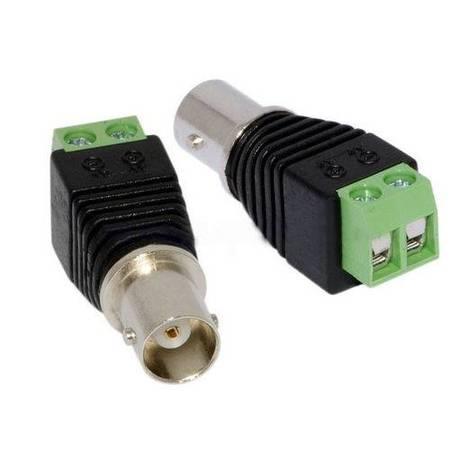 Cftv Conector BNC Femea C/ Borne 5un