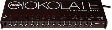 Cioks Ciokolate Link Guitar FX Fonte de alimentação DC & AC 16 Saídas 12 Pedal isolado