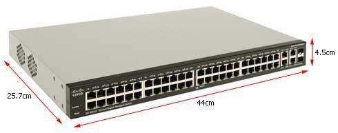 Cisco Small Business Sg300-52 52 Portas 10/100/1000 (Srw2048-K9-Na)