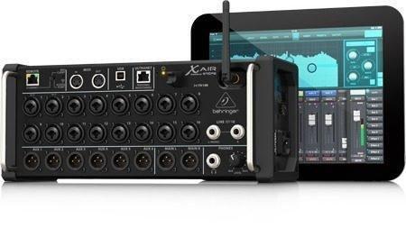 Console Mesa Digital Behringer X Air Xr18 Mixer