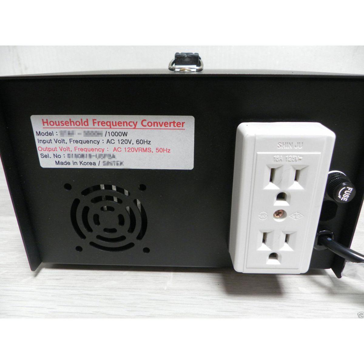 Conversor De Frequência Para Casa / 50hz 60hz 2000w 2kw 110v 120v 220v 240v Hertz