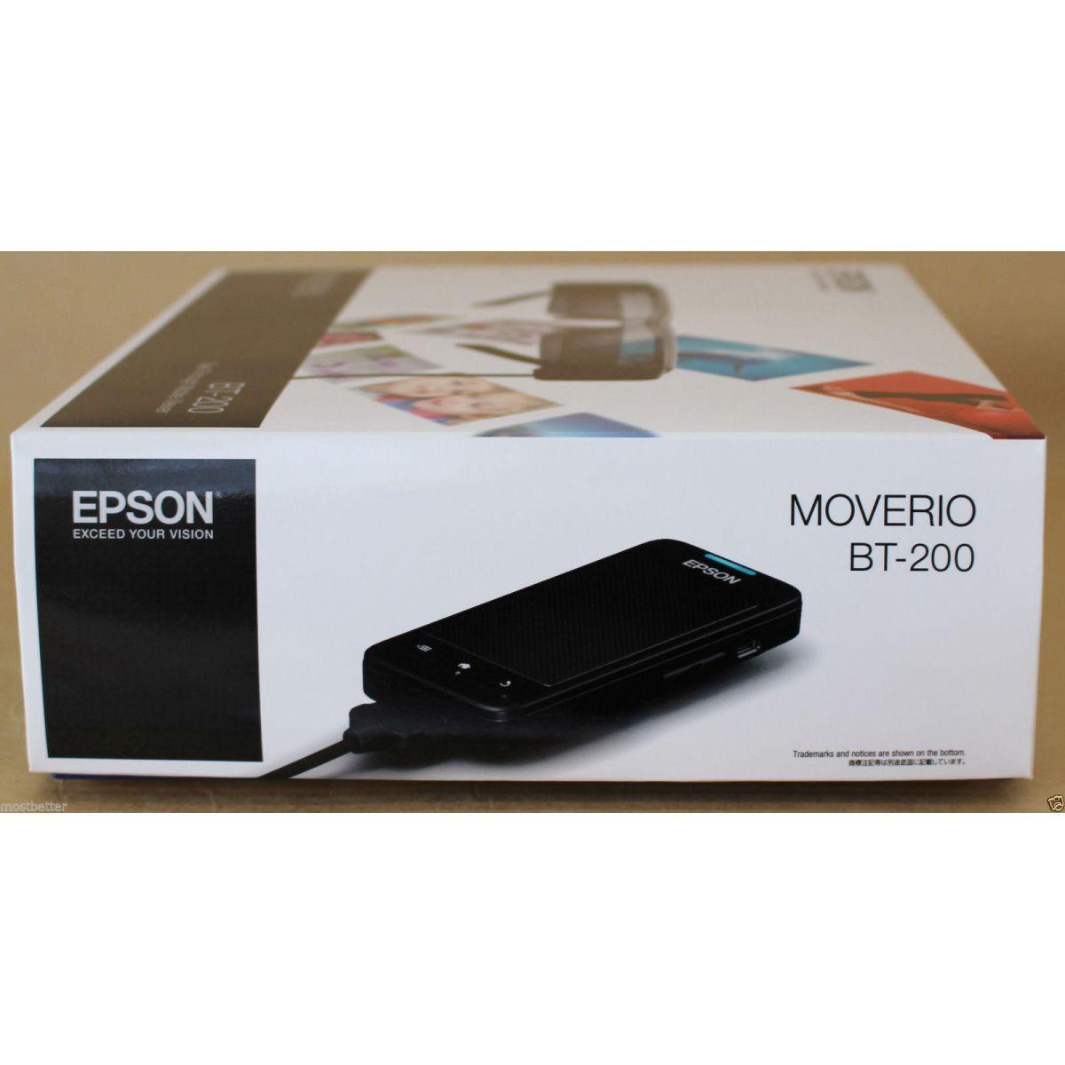 Epson Moverio Bt-200 Smart Glass