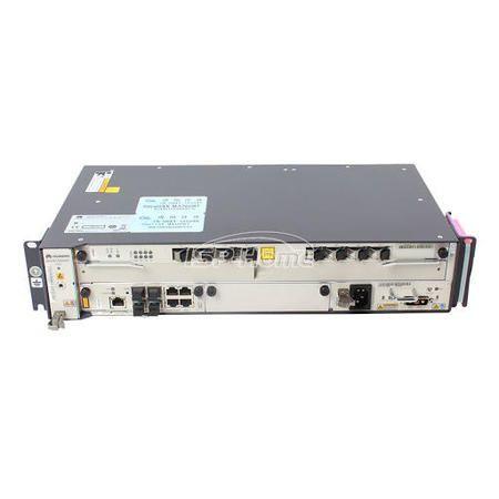F. OLT HUAWEI 02U MINI MA5608T 01XUPLINK 10G(MCUD1)+ Placa Olt 8 Portas C+ Ac Dc Completa