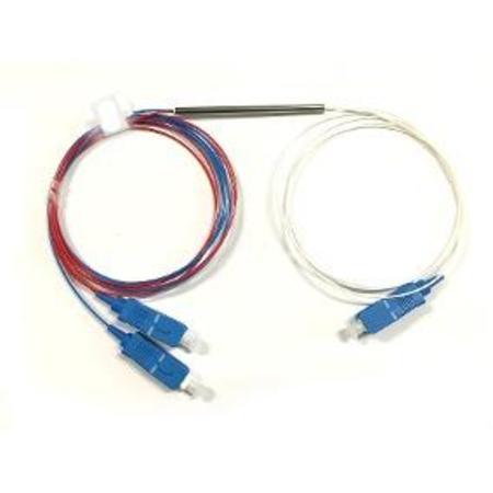 F. Splitter 1*2 20-80% 0.9MM SC-UPC Fbt