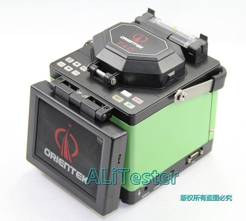 Fibra Maquina De Fusao Orientek T40 Kit Fusion Splice