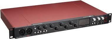 Focusrite Scarlett 18i20 2 Geração Interface Áudio Usb Loja
