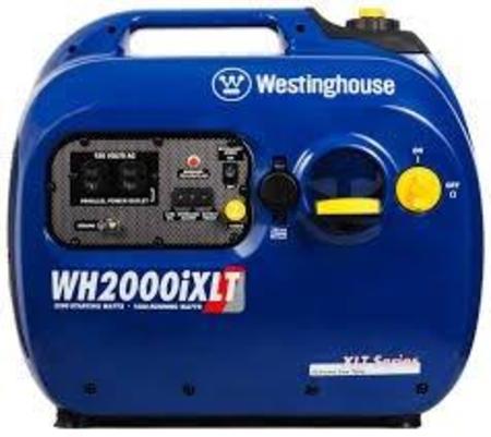 Gerador de Inversor Portátil Westinghouse Wh2000iXLT