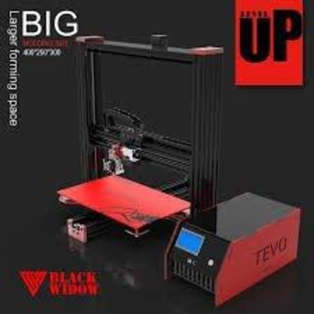 Impressora 3d Tevo Viuva Negra 370*250*300mm C/ Bl Sensor Touch