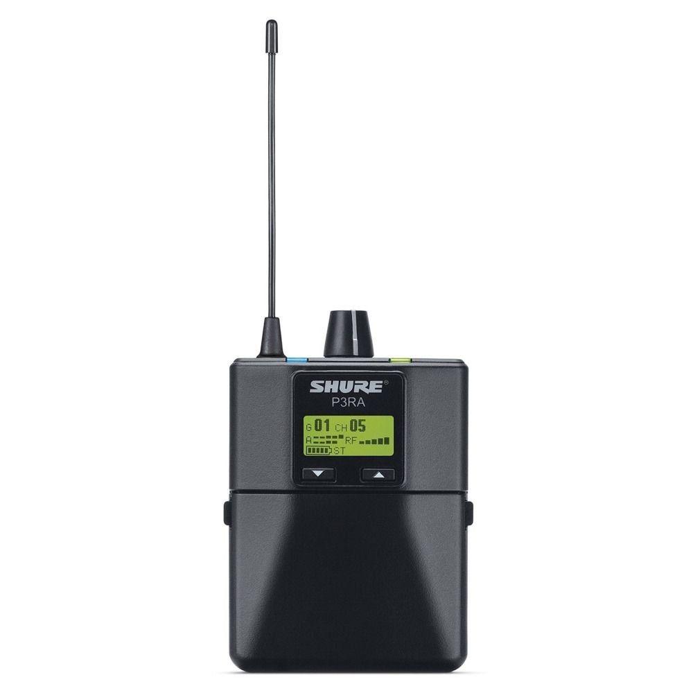 Kit Shure P3tra215cl Psm300 Sem Fio Estéreo G20 488-512 Mhz