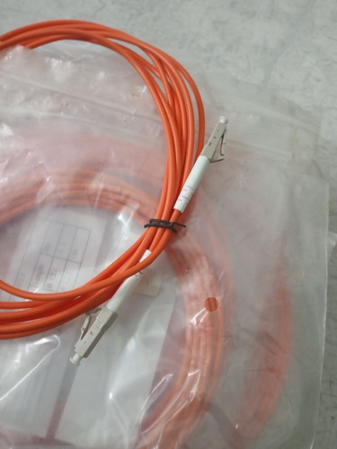 Lote 17 Pecas Patch Cord Lc/upc-lc/upc Simples 3.0 M