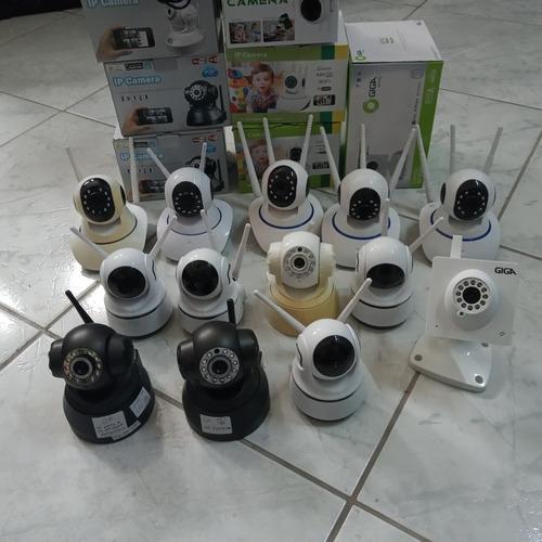 Lote De 13 Câmera Ip Wi-fi Com Defeito
