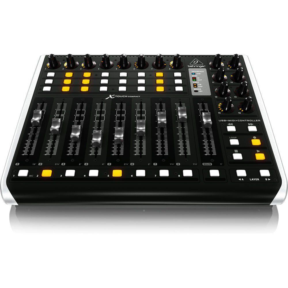 Mesa De Som Dj Behringer X-Touch Compact