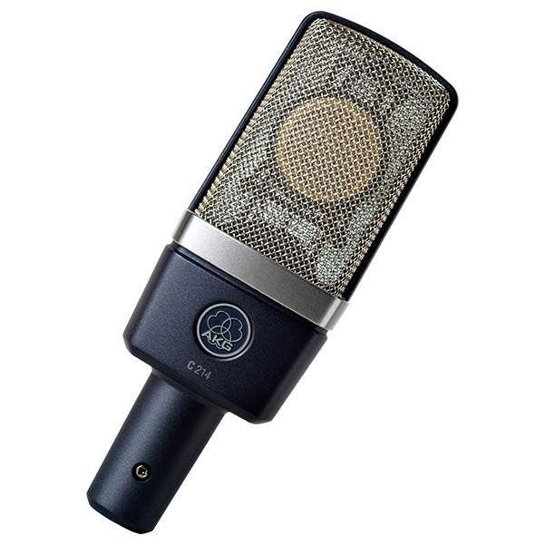 Microfone Condensador AKG C214 Diafragrama Grande