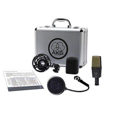 Microfone Condesador Akg C414 Xlii