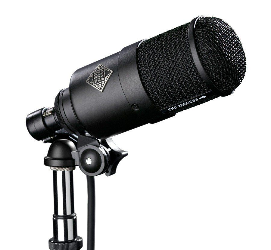 Microfone Telefunken M82 Dynamic Kick Drum Microfone Live Stage Performance Mic Eq Switch