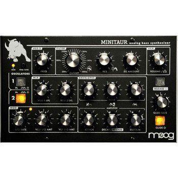 Moog Minitaur Efeito P/ Baixo