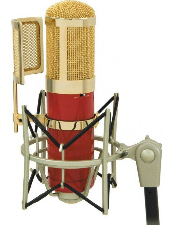 MXL Genesis Mic Gravação Studio Tubo Condensador Microfone Marshall Box Set