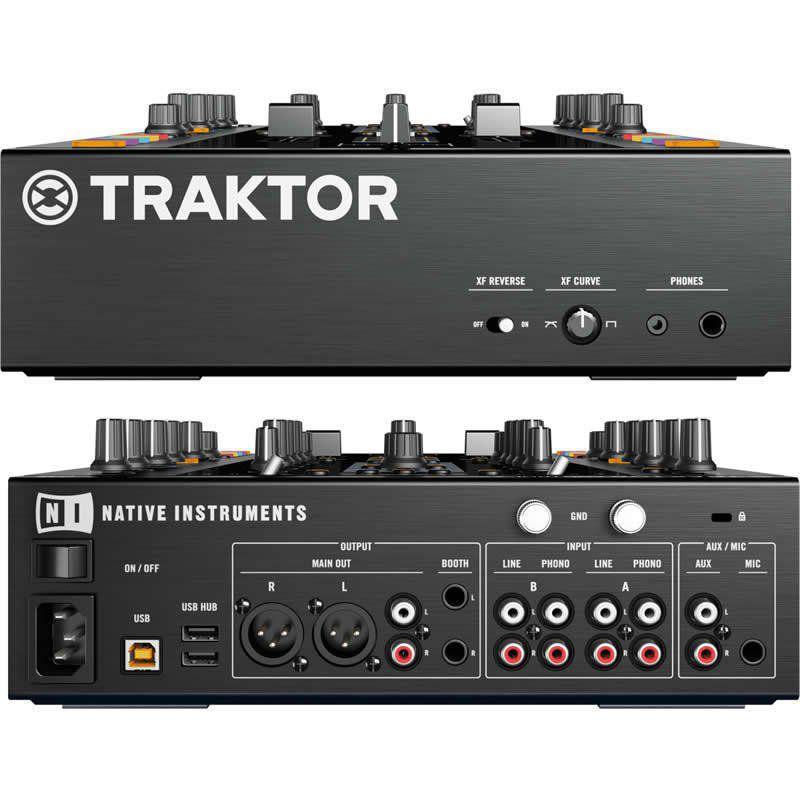 Native Instruments Traktor Kontrol Z2 com o software Traktor Pro 2