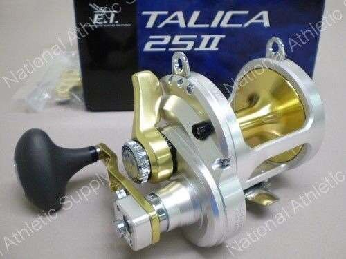 Nova Carritilha Shimano Talica 25 Ii 2speed Fishing Reel