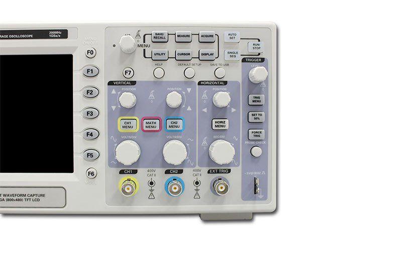 Novo Osciloscopio Hantek DSO5202P Osciloscópio Digital Portátil 200 MHz