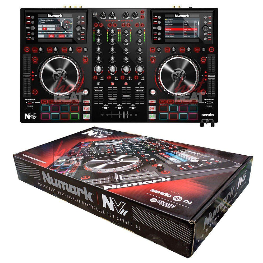 Numark NV II Dual-Display com Serato DJ NV2 NVii