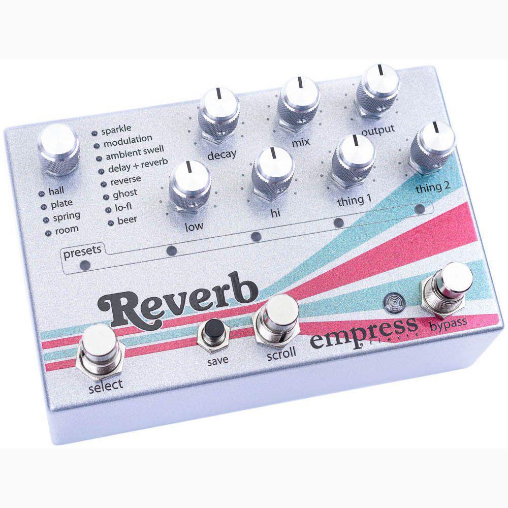Pedal Efeitos De Guitarra Reverb True Buffered Bypass Stompbox Fx