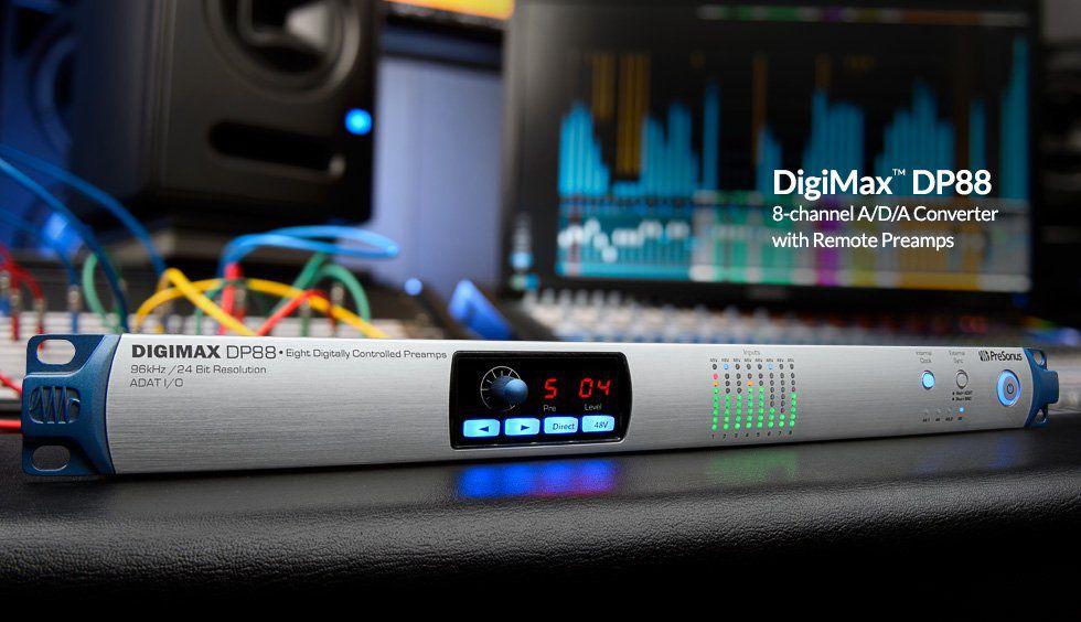 Presonus Digimax Dp88 Pre Amplificador