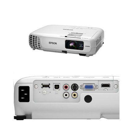 Projetor Epson X24+ 3500 Lumens Branco