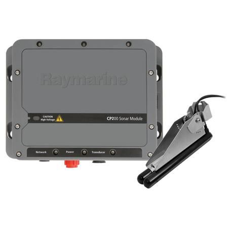 Raymarine Cp200 Chirp Sidevision Sonar Module W/Cpt-200 Transom