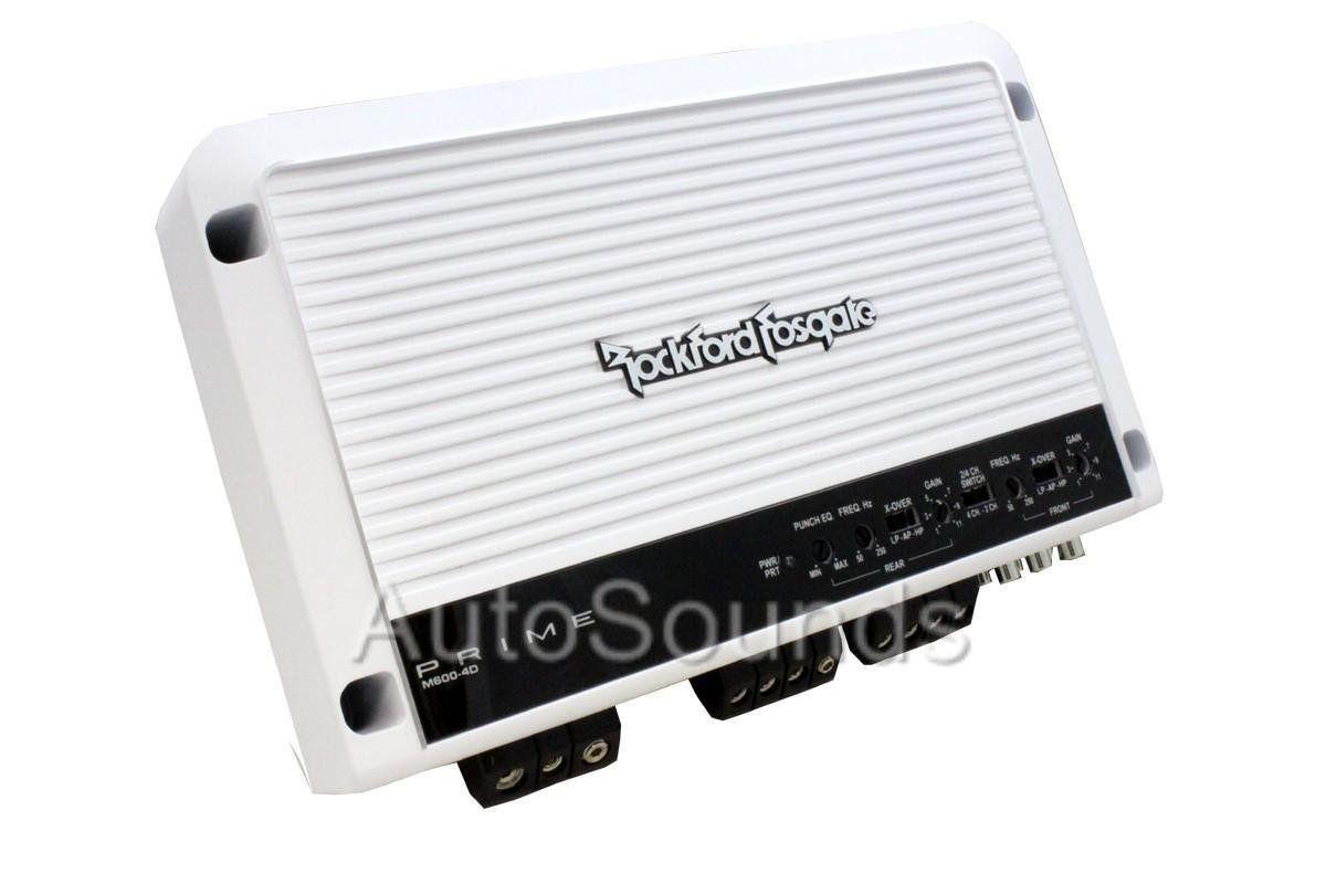 Rockford Fosgate M600-4d 600 Watts Rms Barco Maritimo
