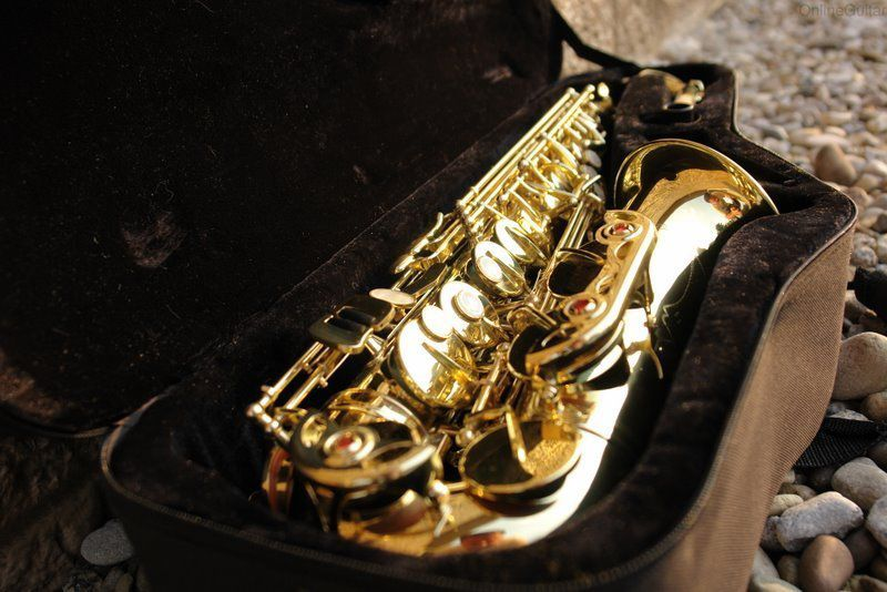Saxofone Alto Saxo C/ Case & Yamaha Kit
