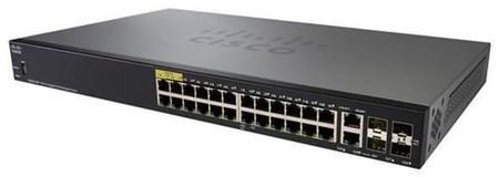 SWITCH 28P CISCO SG350-28P-K9-NA 24X10/100/1000 (POE+) 4 SFP