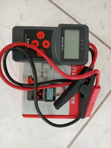 Testador De Bateria De Carro Moto Selada Gel Etc