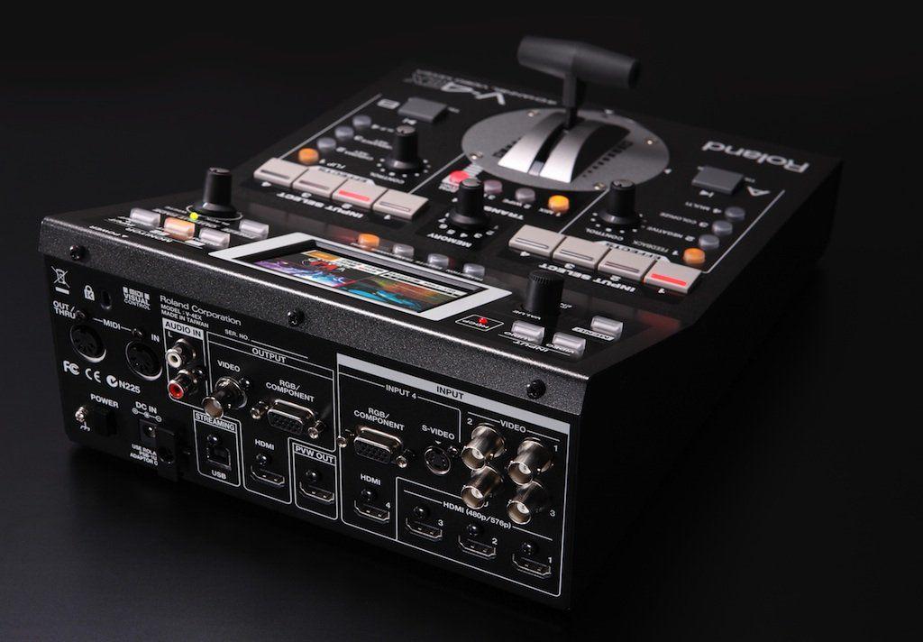 Vídeo Mixer Roland V-4ex De 4 Canais Digitais Com Efeitos