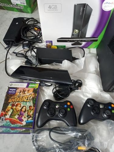 Xbox 360 Kinect 4gb Fica Resetando
