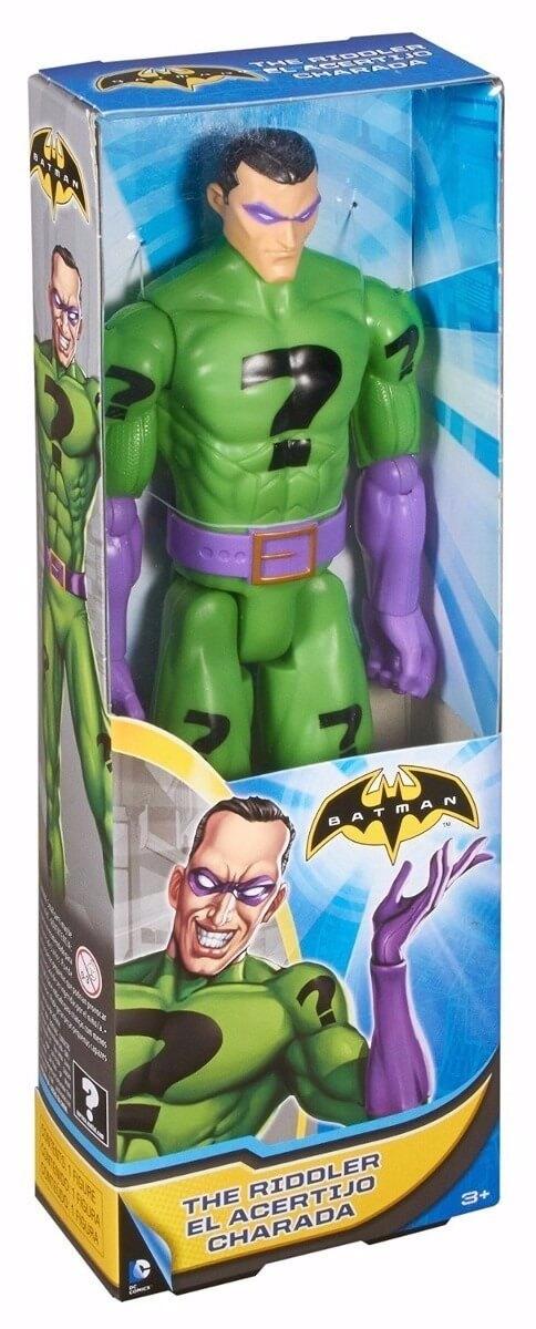 Boneco Charada DC 30 cm Mattel Liga da Justiça original 24c2f2c70f4