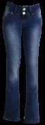 Calça fem. jeans marinho flear