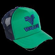 Boné trucker Valley verde c/ marinho