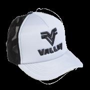 Boné trucker Valley cinza c/ preto