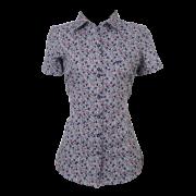 Camisa fem. floral MC