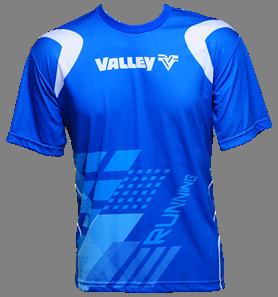 Camiseta masc. em dri-fit Valley  - Grife Valley